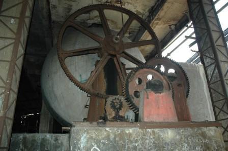 roda pengerak reaktor hidrolisis