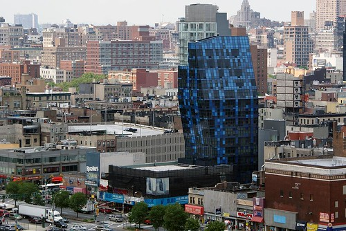As buildings shoot up in the Lower East Side, so does the cost of living (taken from Joel Raskin via flickr.com)