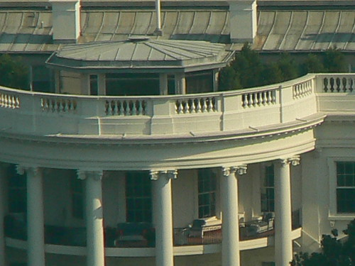White House from the Washington Monument