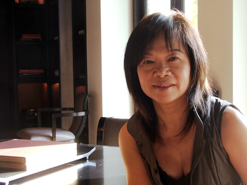 Taiwanese fashion designer Shiatzy Chen
