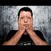 Hiding behind myself - reloaded von fuchsphoto