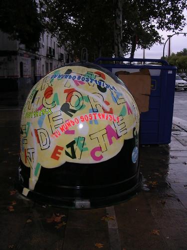 Tu mundo sostenible. Grafiti 28