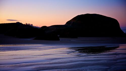 Sky, Rock, Sand, Water