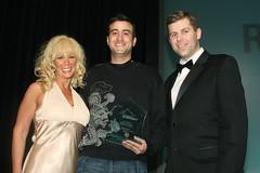 Brian Littleton receives the Affiliate Marketi...