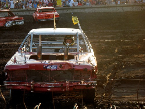 demolition derby...close up