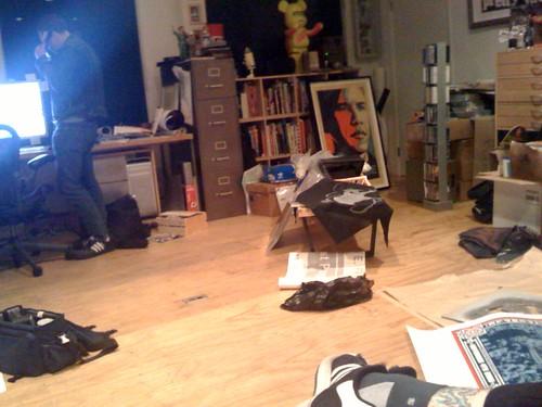Shepard in his office