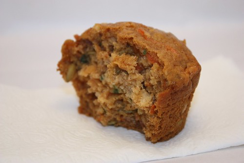 the latest batch of the morning glory muffin experiment