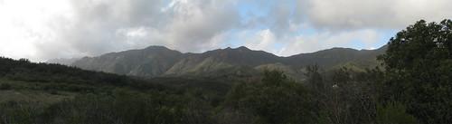 Arroyo Sequit Boney Ridge Pano