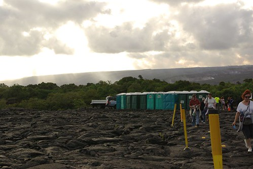 lava viewing staging area