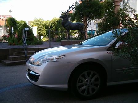 2008-09-07 - Nuestro Renault Laguna alquilado