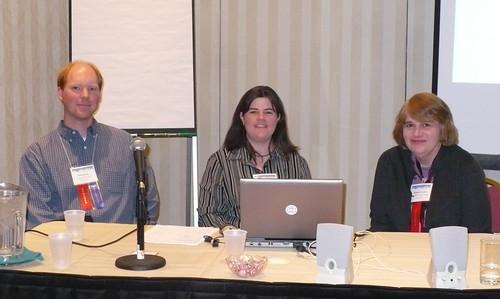 Brian Herzog, Paige Eaton Davis, Elizabeth Thomsen