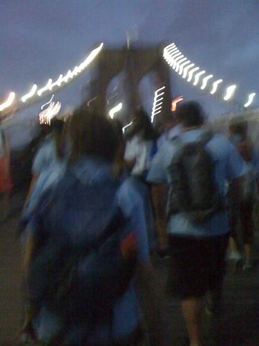 Overnight walk