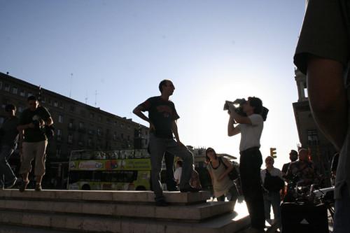 concentración contra el dragado 03/07/08