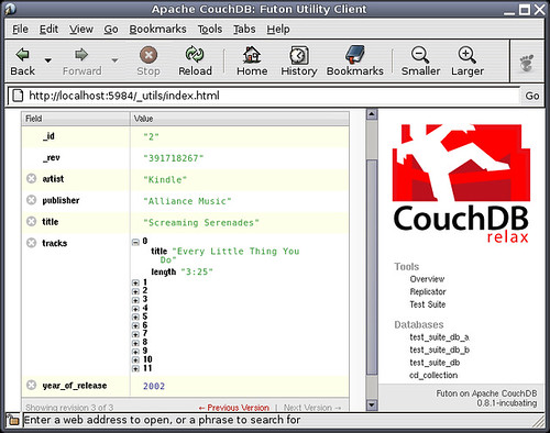CouchDB with nested data