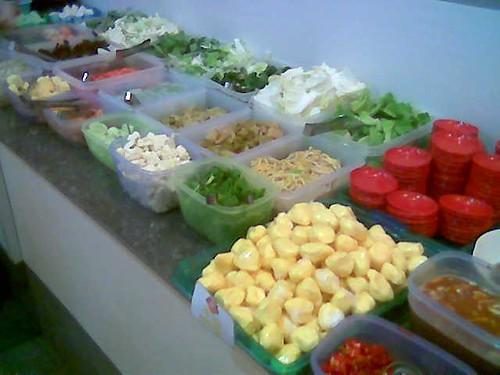 Sibu's Twin Star - veg and stuff