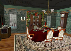 Dining Room in Summer Gildeas home