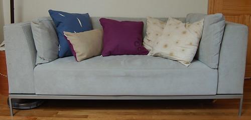 So many pillows!