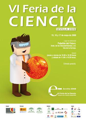 Cartel VI Feria de la Ciencia
