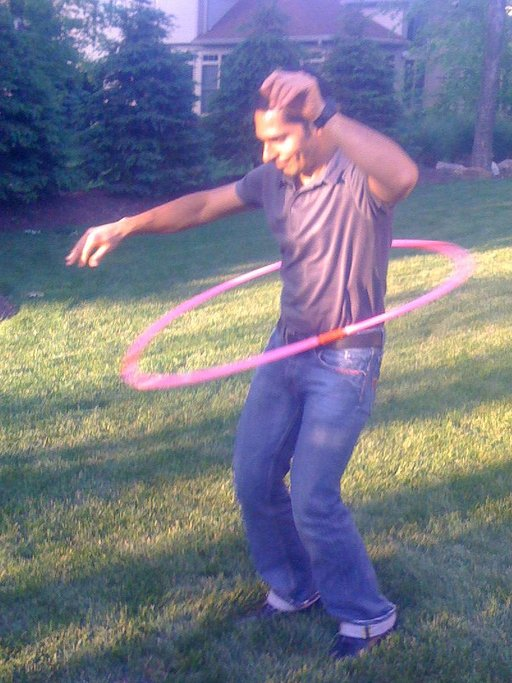 Nacho-- the over-30 Men's Westlake Hula-Hoop Champion