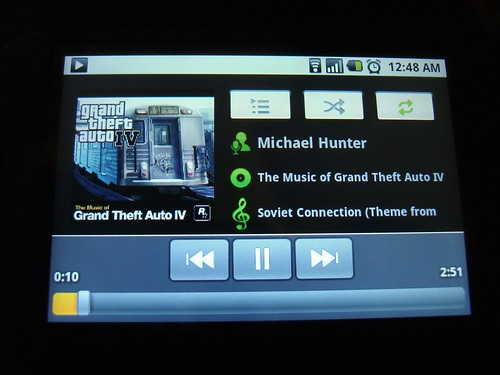 Playing the music downloaded from Amazon MP3