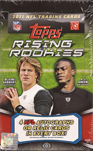2011 Topps Rising Rookies box