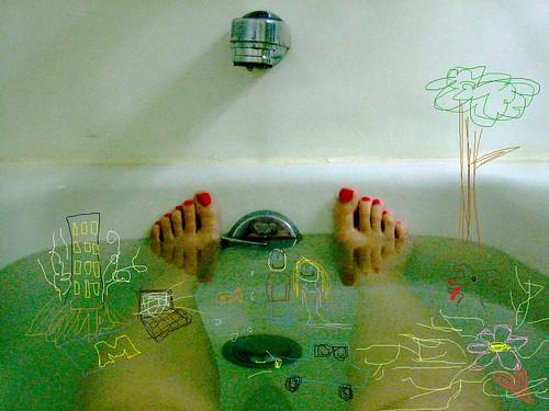Frida Kahlo Bathtub Homage