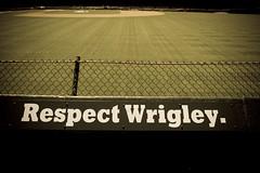 Respect Wrigley