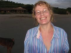 Maggan og Oso på Playa el Coco