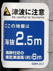 tsunami warning: Be careful to tsunamis #1583