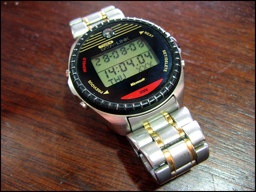 Timex DataLink 150.  Photo Credit: ricardo / zone41.net.