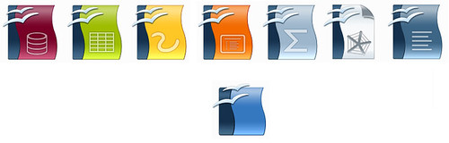 New Set of Icons for OpenOffice.org 3.0 RC1