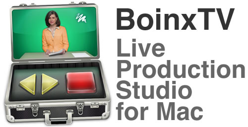 BoinxTV: Live Video Production for Mac