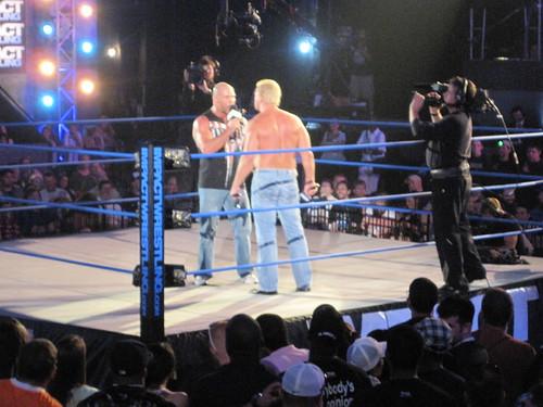 Kurt Angle and Jeff Jarrett Promo
