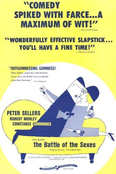 A Batalha dos Sexos ( The Battle of the Sexes, 1959 )
