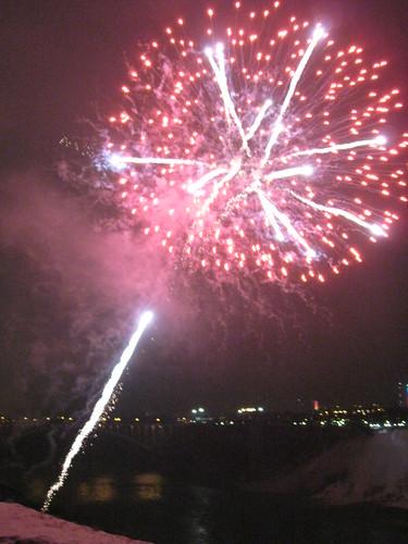 Winter Festival of Light Fireworks