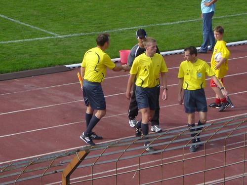 Sportliche Geste von Matthias Mink