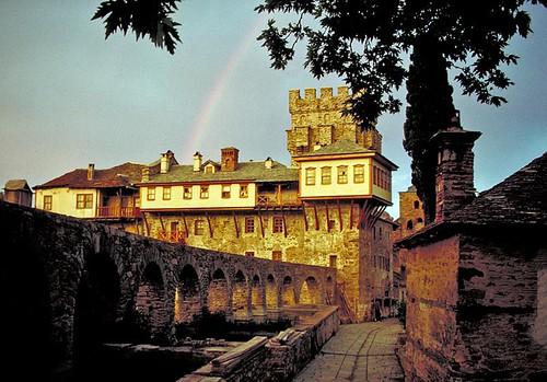 Rainbow on Mt. Athos