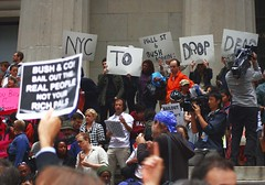 NYC TO WALL ST: & BUSH: Drop Dead!