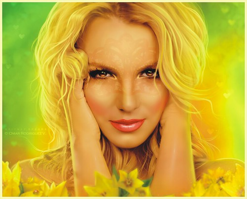 Britney Spears [ Seal it With a Kiss ] Femme Fatale by © Omar Rodriguez V.