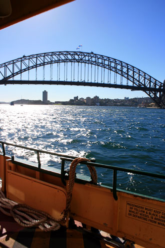 Ferry Ride to Taronga Zoo