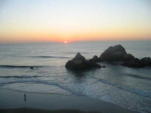 Sunset at Sutro Baths, Sausolito, CA