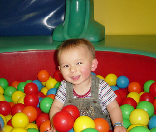 Mitchell at the Wiggly Play Centre