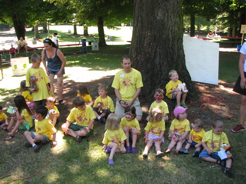 The Heart kids at Lion Heart