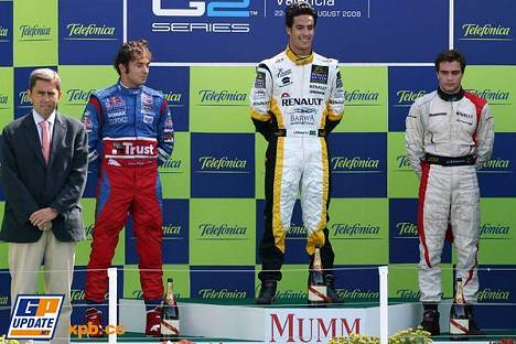 GP2 Championship, Spain, Sunday Podium by you.