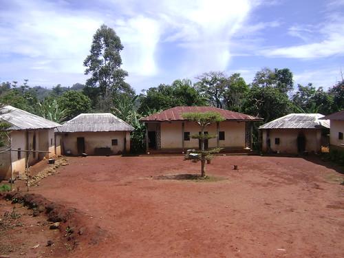 The Ndi Wamba family compound in Fongo-Ndeng.
