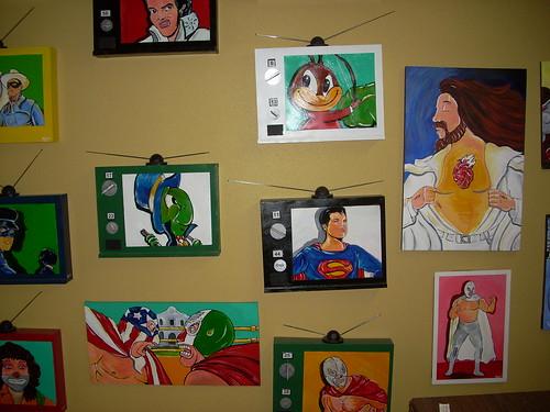 Xavier Garza\'s paintings