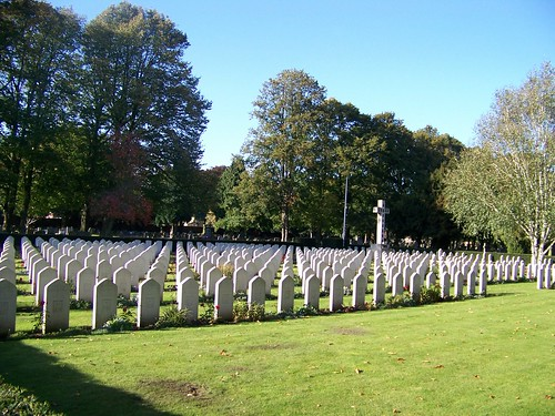 POLISH WAR GRAVES AT NEWARK CEMETERY UK by you.