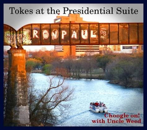 Tokes in the Presidential Suite