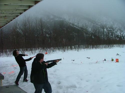 Valdez Gun Range Sawed Off Shotgun And Locals