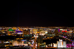 Las Vegas, Nevada, at night